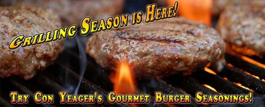 Con Yeager Burger Seasonings